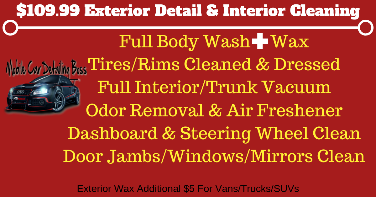 Mobile Auto Detailing In Dc Md Va Mobile Car Detailing